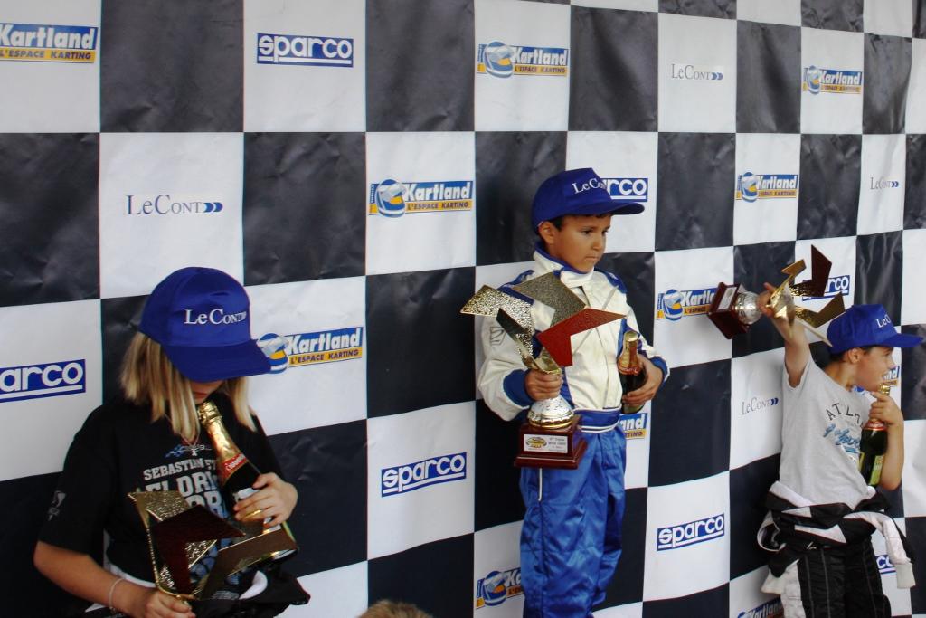 1ère course en UFOLEP Minikart et 1ère Victoire au Trophé Michel Caban 01/09/2012