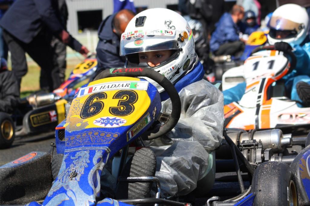 Concentration au départ de la finale au Mans le 11 Mai 2014