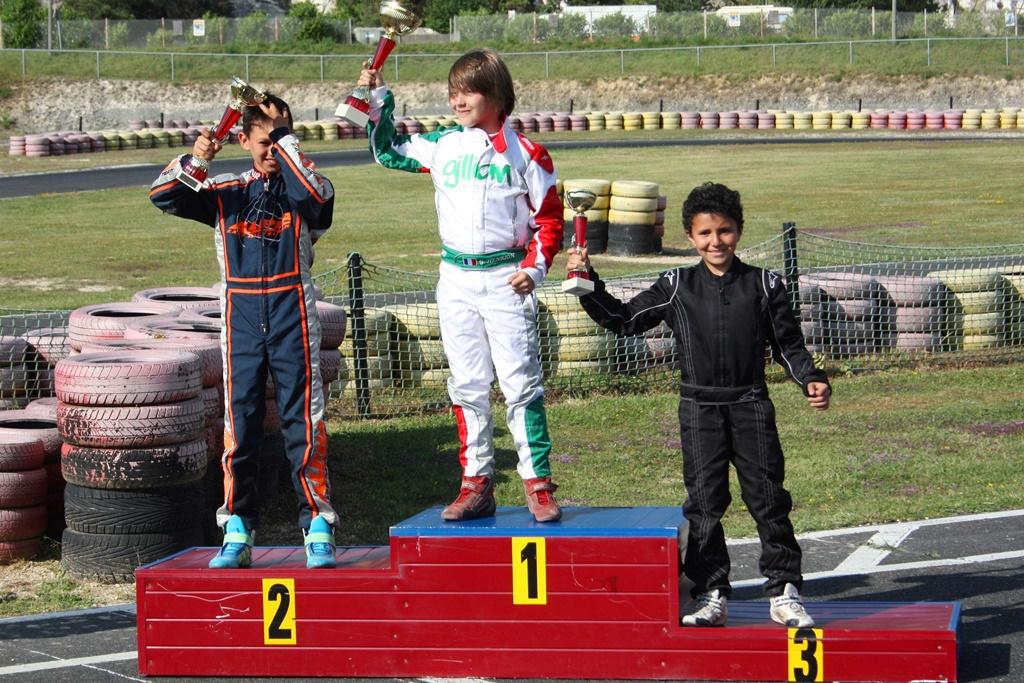 Premier podium FFSA d'Isack