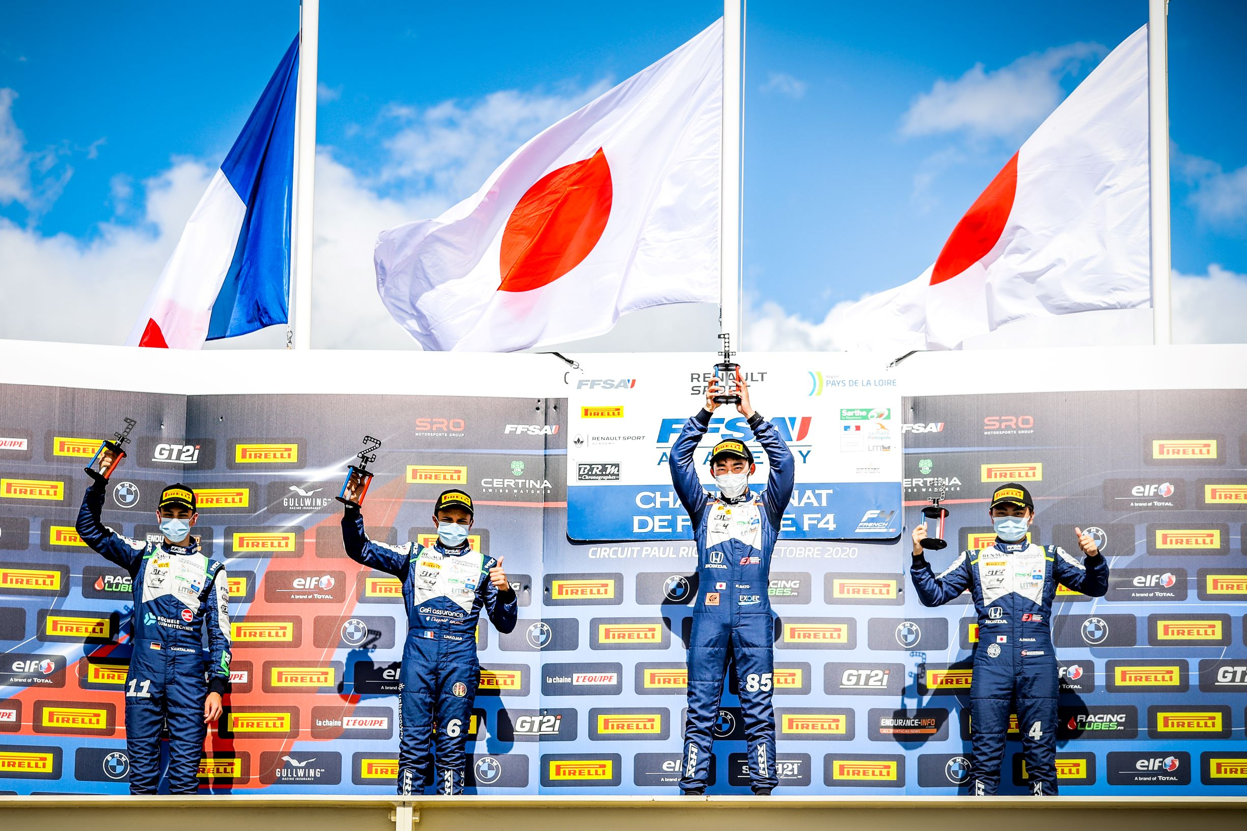 French F4 Championship Round # 2: Magny-Cours (09/13/20)
