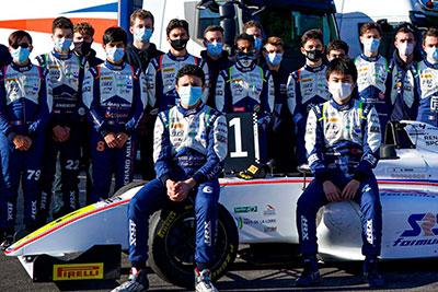 Saison 2020: Championnat de France F4