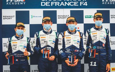 French F4 Championship Round # 3 : Zandvoort (27/09/20)